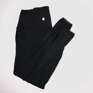 Lululemon wunder under size 6 leggings